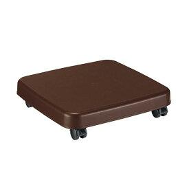 (まとめ) サンコープラスチック ラクゴロ Mダークブラウン 403988 1台 【×5セット】【卸直送品】