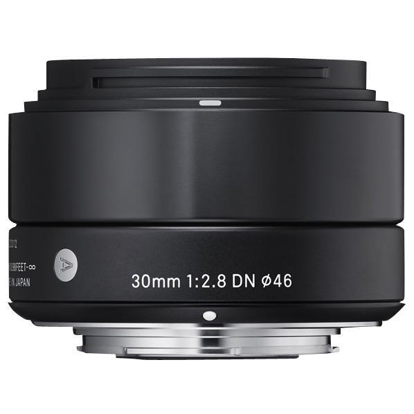 【送料無料】シグマ 標準レンズ(ソニー用) 30mm F2.8 DN ブラック 30MMF28DNブラックソニ-Eマウント [30MMF28DNブラツクソニ-Eマウント]