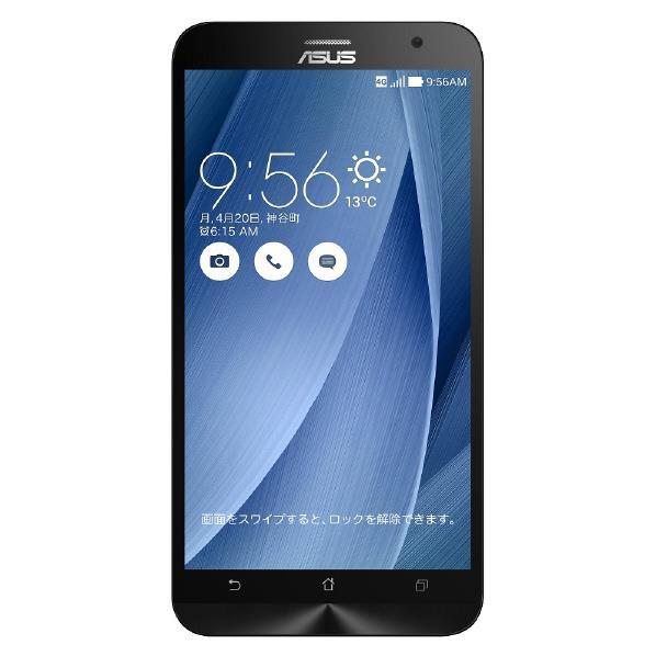 【送料無料】ASUS ASUS Zenfone2 SIMフリースマートフォン LTE対応 ZenFone2 ZE551ML-GY64S4 [ZE551MLGY64S4]