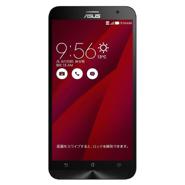 【送料無料】ASUS SIMフリースマートフォン LTE対応 ZenFone 2 ZE551ML-RD32S4 [ZE551MLRD32S4]