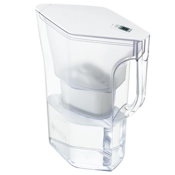 ブリタ ポット型浄水器 ナヴェリア ホワイトメモ ホワイト BJNWS [BJNWS]