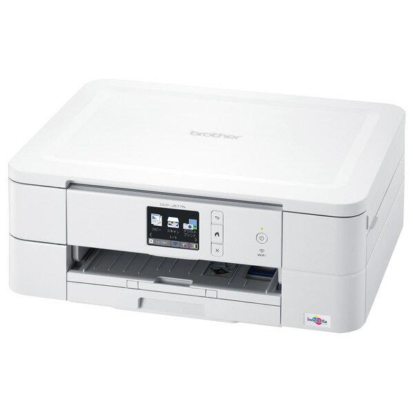 ブラザー インクジェット複合機 PRIVIO ホワイト DCP-J577N [DCPJ577N]【RNH】