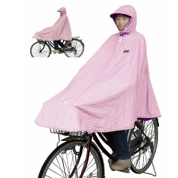 大久保製作所 マルト MARUTO 大久保製作所 D-3POMT 自転車屋さんのポンチョ水玉 ピンク D-3POMTピンク [D3POMTピンク]