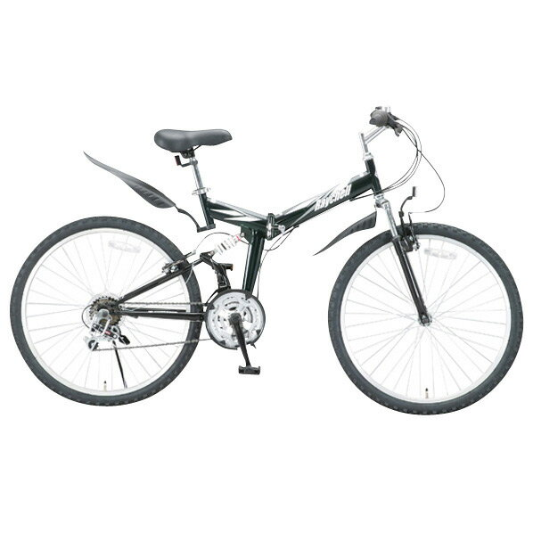 【送料無料】OTOMO 26インチ折りたたみ自転車 RAYCHELL ブラック MTB2618Rブラツク [MTB2618Rブラツク]
