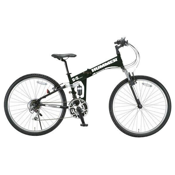 【送料無料】OTOMO 26インチ折りたたみ自転車 HUMMER マットブラック HUMMERFDB268WSUSマツトブラツク [HUMMERFDB268WSUSマツトブラツク]【DZI】