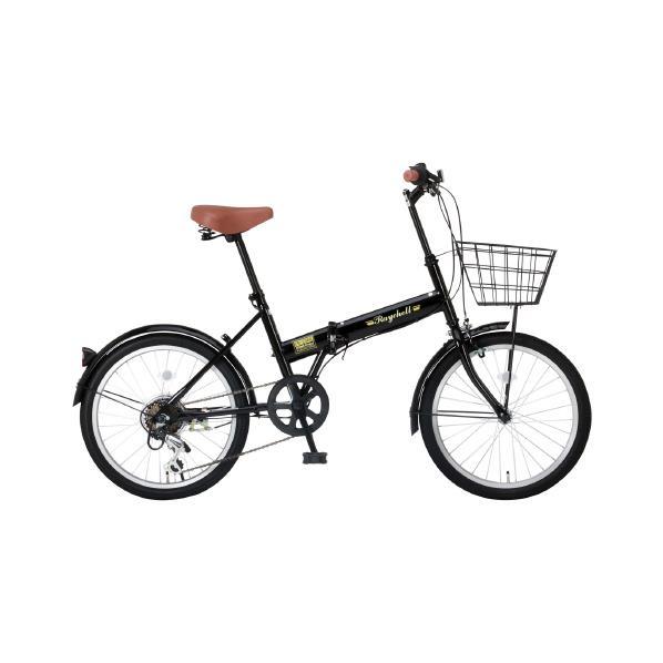 【送料無料】OTOMO 20インチ折りたたみ自転車 Raychell ブラック FB-206Rブラツク [FB206Rブラツク]