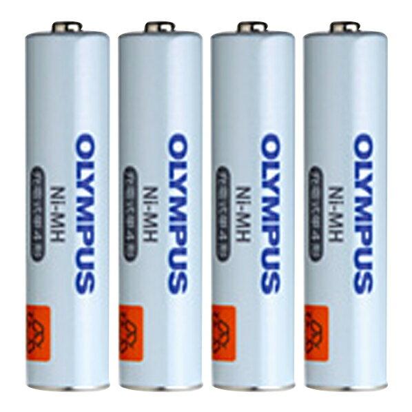 オリンパス ICレコーダー用単4形ニッケル水素充電池(4本組) BR404 [BR404]