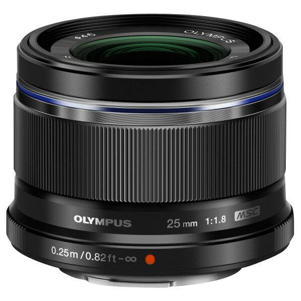 【送料無料】オリンパス 単焦点レンズ M.ZUIKO DIGITAL 25mm F1.8 ブラック 25MM F1.8BLK [25MMF18BLK]