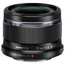 オリンパス 単焦点レンズ M.ZUIKO DIGITAL 25mm F1.8 ブラック 25MM F1.8BLK [25MMF18BLK]【SPSP】
