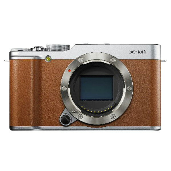 富士フイルム デジタル一眼カメラ・ボディ X-M1 ブラウン F FX-X-M1BW [FFXXM1BW]【RNH】【SYBN】
