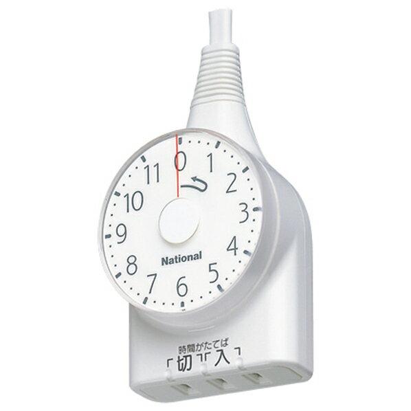 パナソニック ダイヤルタイマー(11時間形)(1m) WH3111WP [WH3111WP]