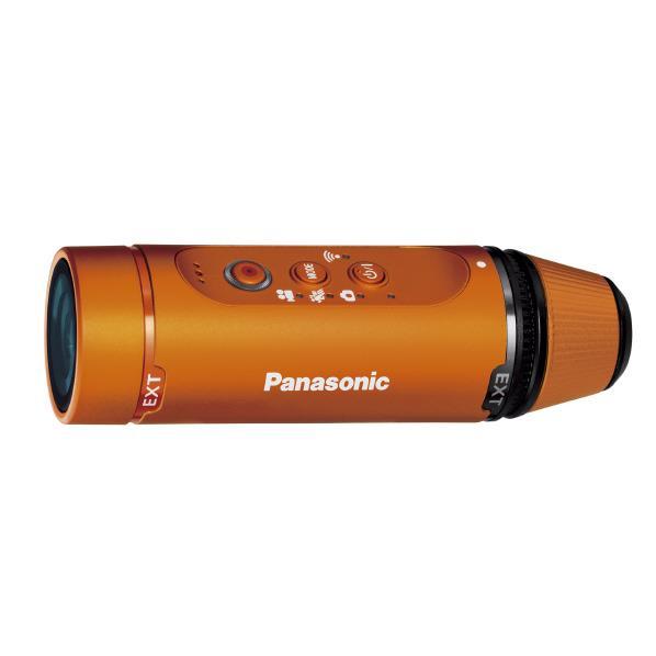 【送料無料】パナソニック ウェアラブルカメラ オレンジ HX-A1H-D [HXA1HD]【RNH】