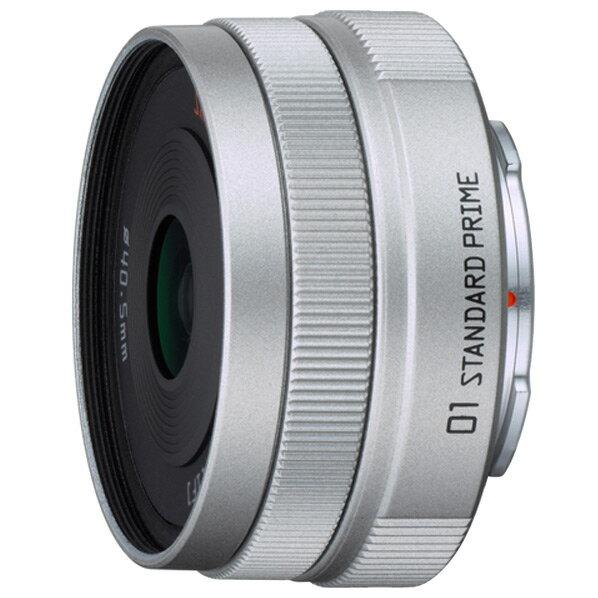 【送料無料】PENTAX 標準単焦点レンズ PENTAX-01 STANDARD PRIME シルバー 01STANDARDPRIME [01STANDARDPRIME]
