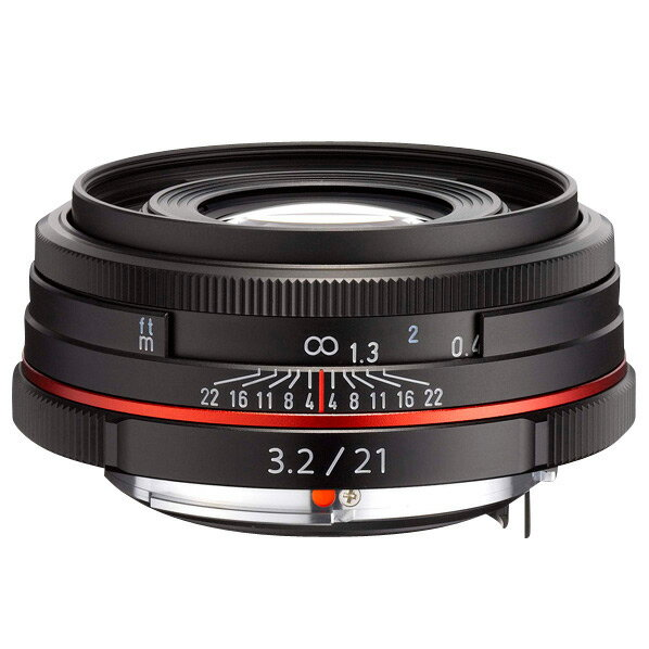 【送料無料】PENTAX 広角レンズ HD PENTAX-DA 21mmF3.2AL Limited ブラック HD DA21MMF3.2 リミテツドBK [HDDA21MMF32リミテツドBK]
