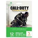 マイクロソフト Xbox Live 12ヶ月 + 1ヶ月 ゴールド メンバーシップ 『 コール オブ デューティ アドバンスド・ウォーフェア』バージョン 52M...