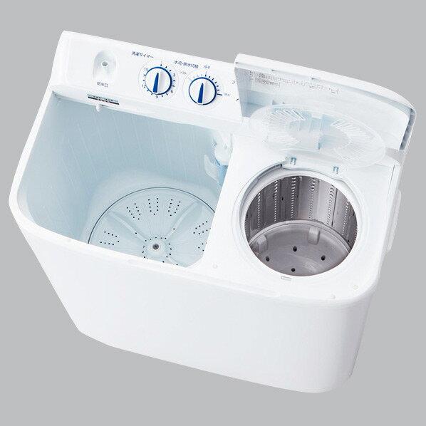 【送料無料】ハイアール 5.5kg二槽式洗濯機 ホワイト JW-W55E-W [JWW55EW]【RNH】