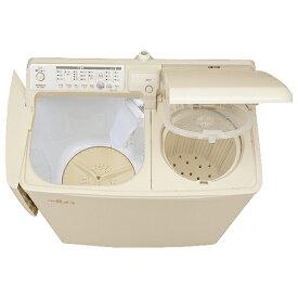 日立 4.5kg自動二槽式洗濯機 青空 パインベ-ジュ PA-T45K5 CP [PAT45K5CP]【RNH】【JNMP】