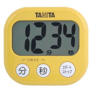 タニタ キッチンタイマー でか見えタイマー マンゴーイエロー TD384/MY [TD384MY]【MMPT】