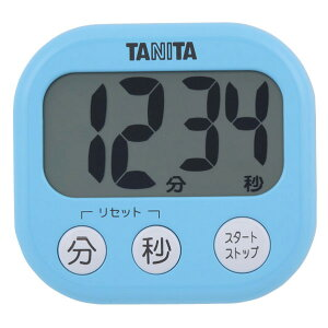 タニタ キッチンタイマー でか見えタイマー ブルー TD384/BL [TD384BL]【MMPT】