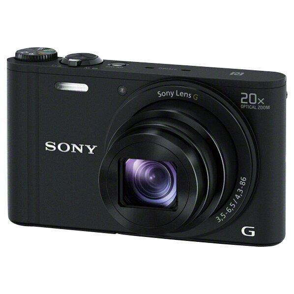 SONY デジタルカメラ Cyber-shot ブラック DSC-WX350 B [DSCWX350B]【RNH】【GNOP】