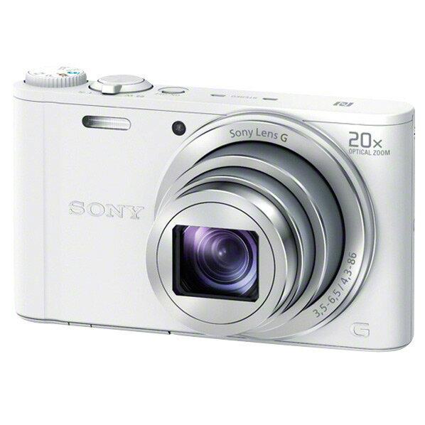 SONY デジタルカメラ Cyber-shot ホワイト DSC-WX350 W [DSCWX350W]【RNH】【GNOP】
