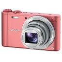 【送料無料】SONY デジタルカメラ Cyber-shot ピンク DSC-WX350 P [DSCWX350P]