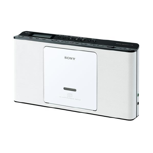 【送料無料】SONY CDラジオ ホワイト ZS-E80 W [ZSE80W]【KK9N0D18P】【RNH】