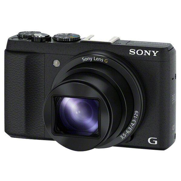 【送料無料】SONY デジタルカメラ Cyber-shot ブラック DSC-HX60V B [DSCHX60VB]【RNH】