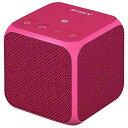 【送料無料】SONY ワイヤレスポータブルスピーカー ピンク SRS-X11 P [SRSX11P]【KK9N0D18P】【RNH】
