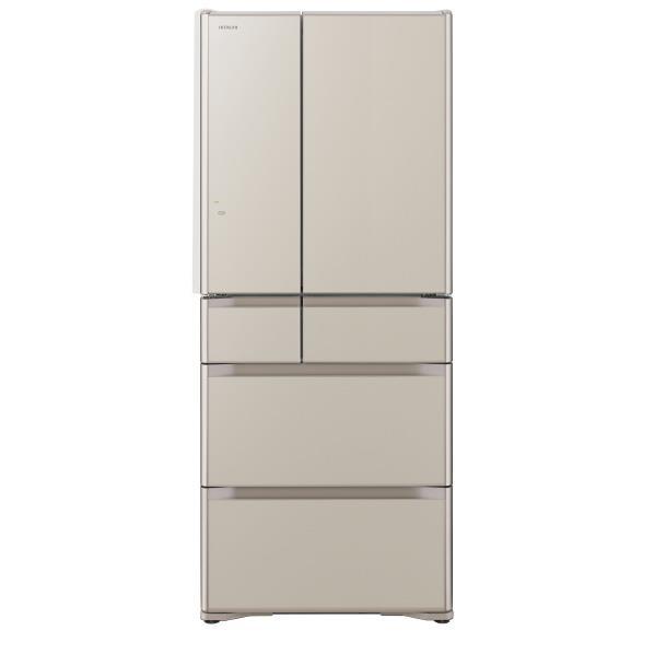 【送料無料】日立 615L 6ドアノンフロン冷蔵庫 真空チルド クリスタルシャンパン R-G6200F-XN [RG6200FXN]【RNH】【RCPP】