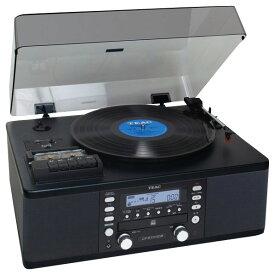 TEAC カセットプレーヤー付CDレコーダー ブラック LP-R550USB [LPR550USB]【RNH】【NATUM】