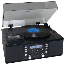 TEAC カセットプレーヤー付CDレコーダー ブラック LP-R550USB [LPR550USB]【RNH】