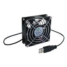 タイムリー USB扇風機 ブラック BIGFAN80U [BIGFAN80U]