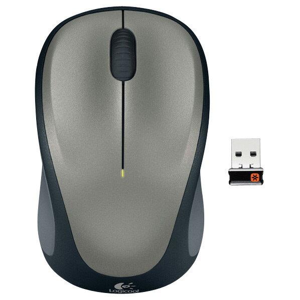 ロジクール ワイヤレスマウス シルバー M235RSV [M235RSV]