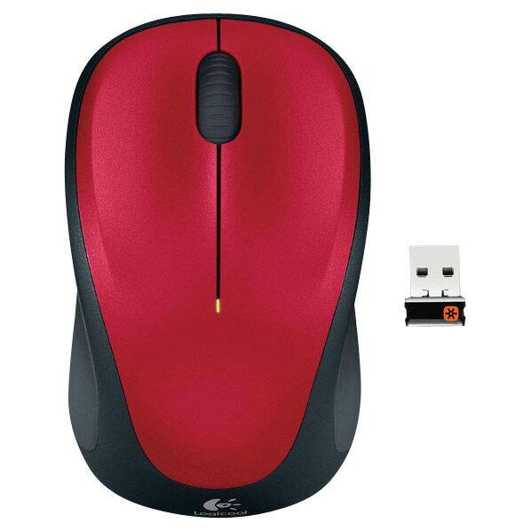 ロジクール ワイヤレスマウス レッド M235RRD [M235RRD]【NMPTO】
