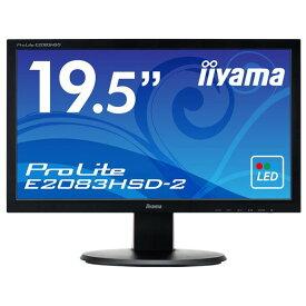 IIYAMA 19.5型液晶ディスプレイ ProLite マーベルブラック E2083HSD-B2 [E2083HSDB2]【RNH】【FOFP】