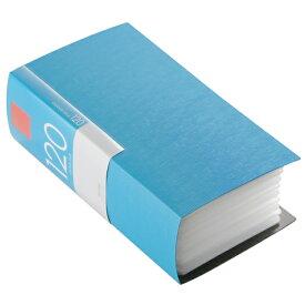 BUFFALO CD・DVDケース(120枚収納) ブルー BSCD01F120BL [BSCD01F120BL]