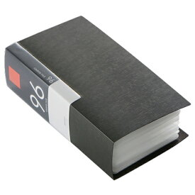 BUFFALO CD・DVDケース(96枚収納) ブラック BSCD01F96BK [BSCD01F96BK]