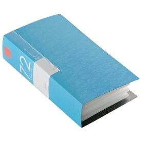BUFFALO CD・DVDケース(72枚収納) ブルー BSCD01F72BL [BSCD01F72BL]