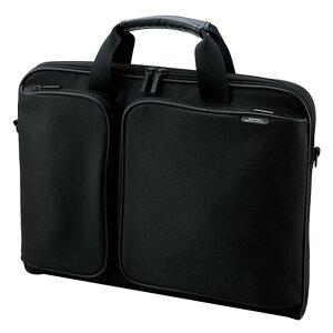 ZEROSHOCK キャリングバッグ スリムタイプ スタンダードサイズ ZSB-BM005NBK [16.4インチ対応 ブラック]