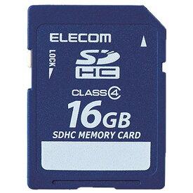 エレコム データ復旧SDHCメモリーカード(Class4・16GB) MF-FSD016GC4R [MFFSD016GC4R]