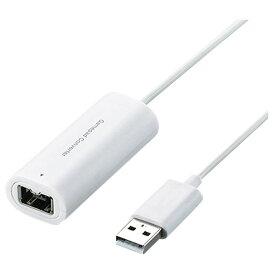 エレコム Wiiコントローラ対応ゲームパッドコンバータ(1ポート) JC-W01UWH [JCW01UWH]