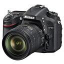 【送料無料】ニコン デジタル一眼レフカメラ・標準ズームレンズキット D7100 ブラック D7100LK1685 [D7100LK1685]