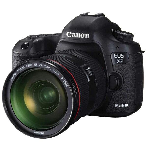 【送料無料】キヤノン デジタル一眼レフカメラ・EF24-105L IS U レンズキット EOS 5D Mark III ブラック EOS5DMark3LK [EOS5DMARK3LK]【RNH】