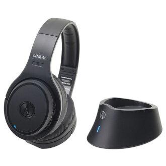铁三角密闭头带型耳机黑色ATH-DWL500 BK[ATHDWL500BK]