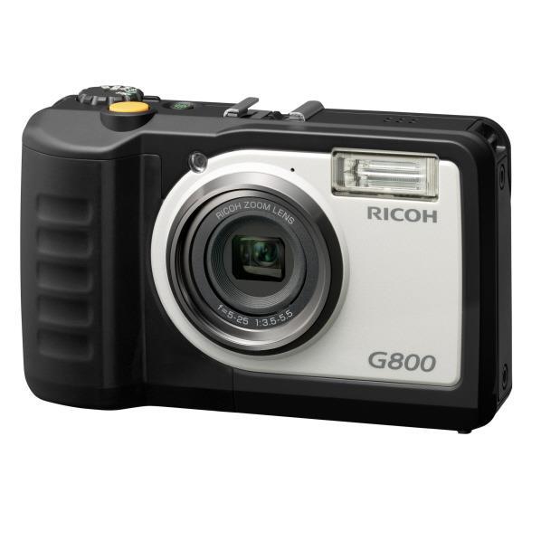 リコー 防水・防塵・業務用デジタルカメラ G800 [G800]【RNH】【NOZSH】