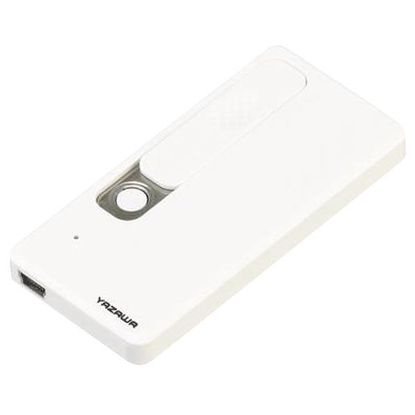 ヤザワ USBライター ホワイト TVR23WH [TVR23WH]