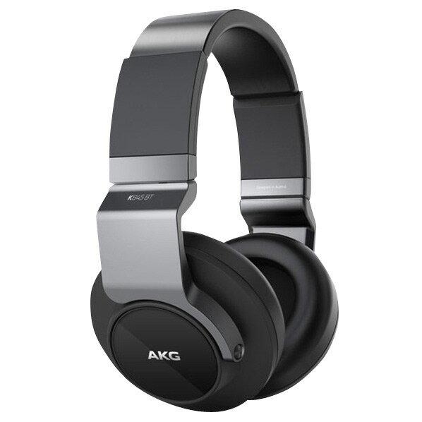 【送料無料】AKG Bluetooth対応 密閉ヘッドバンド型ヘッドフォン ブラック K845BTBLK [K845BTBLK]【RNH】