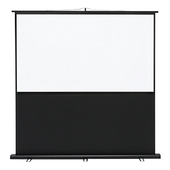 【送料無料】サンワサプライ 70型相当プロジェクタースクリーン(床置き式) PRS-Y70HD [PRSY70HD]
