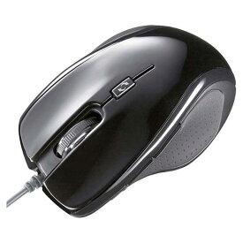 サンワサプライ 光学式マウス ブラック MA-117HBK [MA117HBK]【SPSP】
